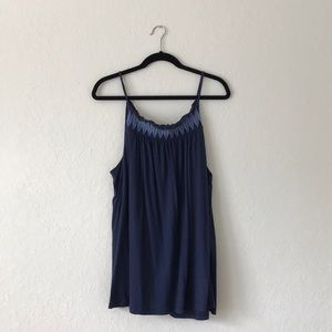 OldNavy embroidered XL Tank